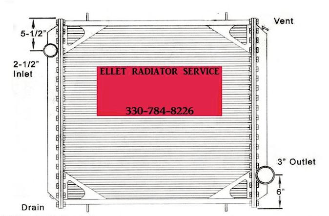 freightliner radiator ohio